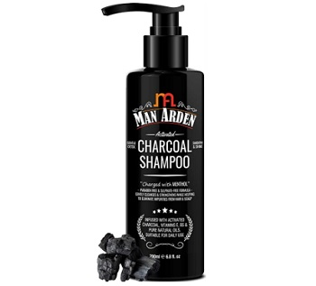 Man Arden Activated Charcoal Shampoo With Argan Oil