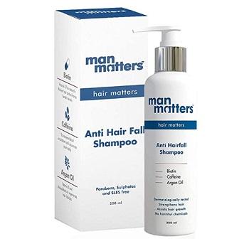 Man Matters Hair Fall Control DHT Blocker Shampoo