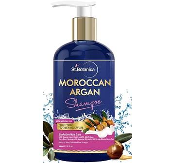 StBotanica Moroccan Argan Hair Shampoo With Organic Argan Oil