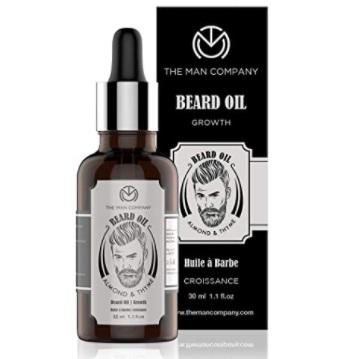 The Man Company Beard Growth Oil For Beard Growth