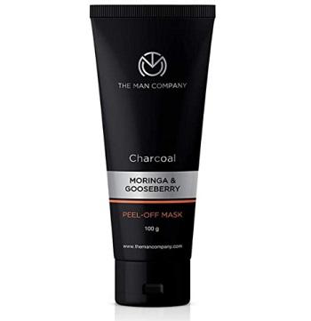 The Man Company Charcoal Peel Off Mask