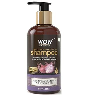 WOW Red Onion Black Seed Oil Shampoo