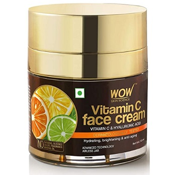 WOW Vitamin C Face Cream