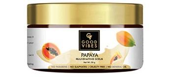 Good Vibes Papaya Rejuvenating Face Scrub