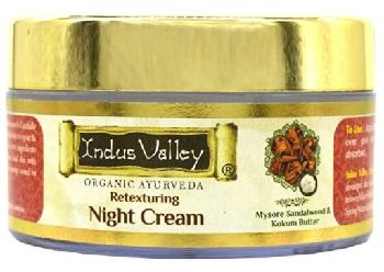 Indus Valley Organic Retexturing Night Cream