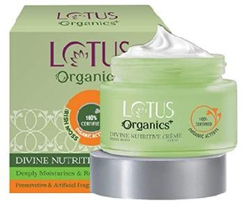 Lotus Organics+ Divine Nutritive Face crème