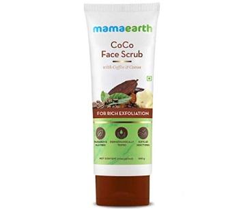 Mamaearth CoCo Face Scrub with Coffee & Cocoa