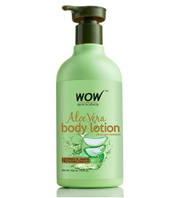 WOW Skin Science Aloe Vera Body Lotion