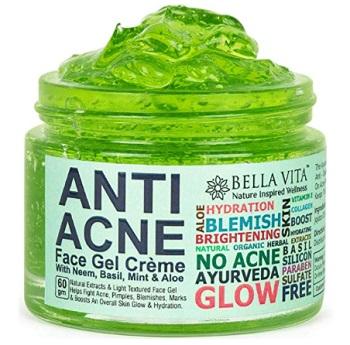 Bella Vita Organic Anti Acne Cream Gel & Pimple Face Gel