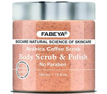 FABEYA Arabica Coffee Body Scrub and Polish