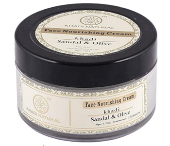 Khadi Natural Ayurvedic Sandal and Olive Face Nourishing Cream