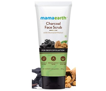 Mamaearth Charcoal Face Scrub For Oily Skin