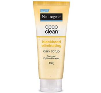 Neutrogena Deep Clean Scrub Blackhead Eliminating Daily Scrub