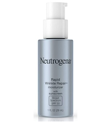 Neutrogena Rapid Wrinkle Repair Anti Ageing Day Moisturizer For Face With Retinol SPF 30