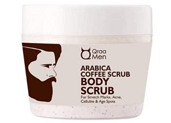 QRAA Men Arabica Coffee Body Scrub