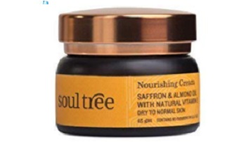 SoulTree Nourishing Cream Saffron & Almond oil