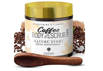 The Balance Mantra Brightening and Firming Coffee Body Scrub