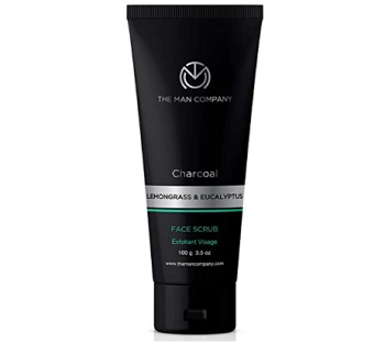 The Man Company Charcoal Face Scrub For Blackheads