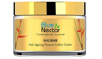 Blue Nectar Anti Ageing Flower Valley Face Cream for Oily Skin