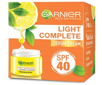 Garnier Light Complete White Speed Fairness Serum Cream