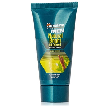 Himalaya Men Natural Bright Oil Control Face Gel Cream for Men
