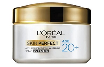 L'Oreal Paris Skin Perfect 20+ Anti-Imperfections + Whitening Cream