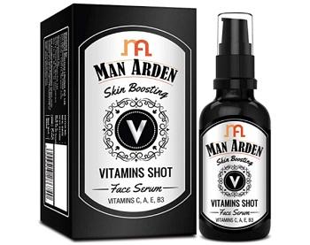 Man Arden Skin Boosting Vitamins Shot Face Serum