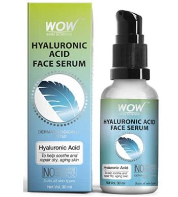 WOW Hyaluronic Acid Moisturising Face Serum