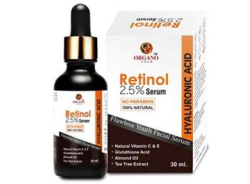 Organo Gold Retinol Serum Deep Wrinkle Repair Serum