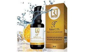 Royal Needs Retinol, Vitamin C and E, Hyaluronic, Glycolic Face Serum