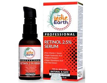 The Indie Earth Retinol Deep Wrinkle Repair Serum