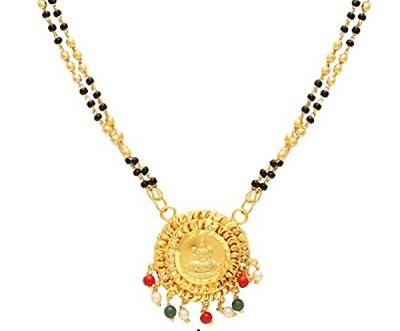 Everyday Wear Circular Mangalsutra Pattern Pendant
