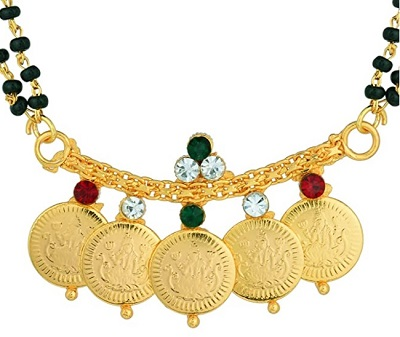 South Indian Coin Mangalsutra Locket Design