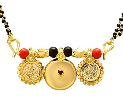 Traditional Temple jewellery mangalsutra pattern