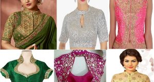 Latest Collared Blouse Designs